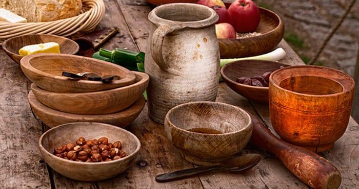 Tasting de la nourriture 1714