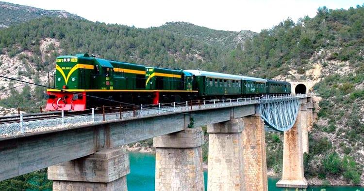 Un viatge amb el Tren dels Llacs