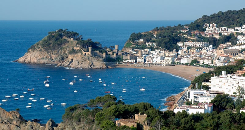 A walk through Tossa de Mar