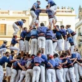 Festividades castelleres en Mataró