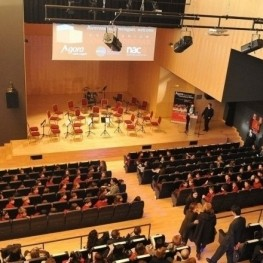 3 concerts for young musicians, at the Josep Carreras Auditorium