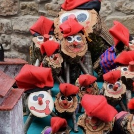 We are going to look for the tió the forest in Fogars de la…