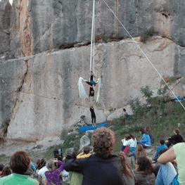 Réunion d'escalade à Coll de Nargó