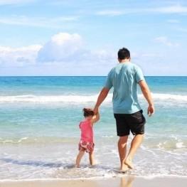 Àrea familiar de platja a Salou