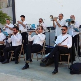 Audició de sardanes a Ribes de Freser