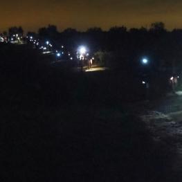 Caminata nocturna en Els Hostalets de Pierola