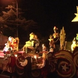 Cabalgata de Reyes en Esponellà