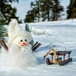 Concurs de ninots de neu a la Vall de Núria