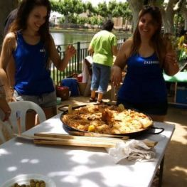 Paella contest at Terrall in Les Borges Blanques