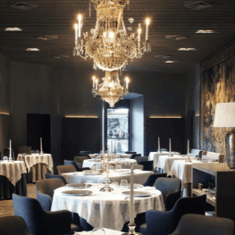 Cuisine de la mer avec Xavier Sagristà et Arnau Bosch au château…