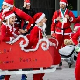 Cursa de Pares Noel a Viladecans