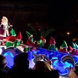 Desfilada de Santa Claus a Olesa de Montserrat