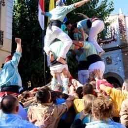 Castellers Day of Mollet del Vallés