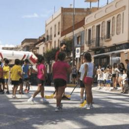 Journée sportive dans la rue à Amposta