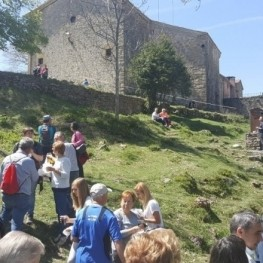 Day of Sant Marc, Truitada to the Sanctuary of Falgars