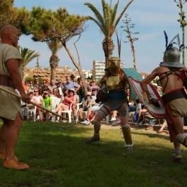 Espectacle de Tarraco Viva a Altafulla