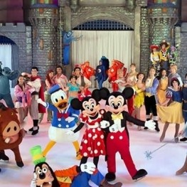 Espectáculo Disney On Ice en Barcelona