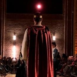 Espectacle teatral El Tron al Castell de Cardona