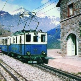 """Exhibition """"90 years of the Núria Rack Railway"""" in Vall de…"""
