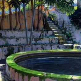 Exhibition tribute to Santiago Rusiñol in Creixell