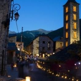 Festa de les Falles d'Erill la Vall a la Vall de Boí