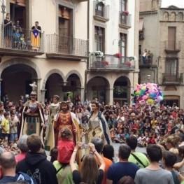 Fiesta de los oficios y Encuentro de Gegantons en Solsona