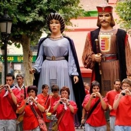 Festival of Sant Roc in Malgrat de Mar