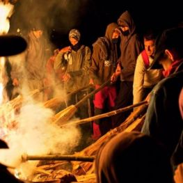 Festivals of the Fallas in the Pyrenees of Lleida