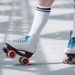 Festival artístic de patinatge al Pla de Santa Maria