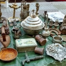 Fira d'Antiguitats i Brocanters a Llívia