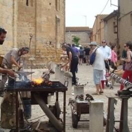 Fira d'oficis a Sant Miquel de Fluvià
