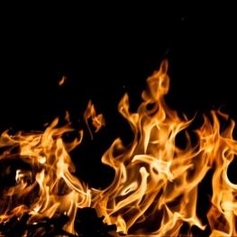 Flame of Canigó in Sant Feliu Sasserra