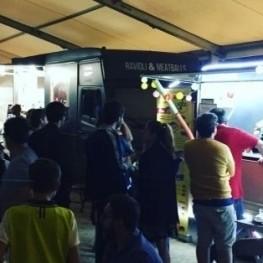 Festival du marché foodtruck à l'Ametlla del Vallès