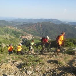 The smugglers' route in Castellar de n'Hug
