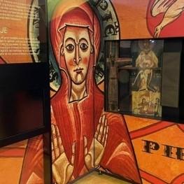 La exposición 'Tiempo del Románico' en la iglesia de San…