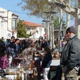 Marché artisanal et brocantes à Santa Margarida i els Monjos