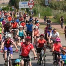 Paseo en bicicleta en Viladecans