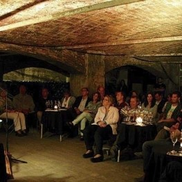 Poetry in the cellars in Sant Sadurní d'Anoia