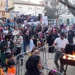 Rua de Halloween en Santa Cristina de Aro