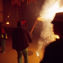 Fiesta de San Antonio in Caseres
