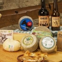 Tastets de formatge a Les Llosses
