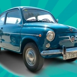 Trobada cotxes 600 i motor antic a Santa Susanna