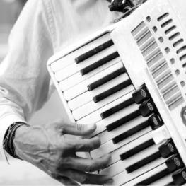 Trobada d'acordionistes a Puig-reig