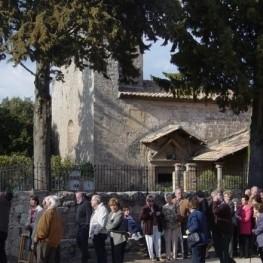 Vote de village à San Sebastián à Montclar