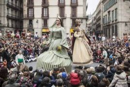 Festivities of Santa Eulalia in Barcelona