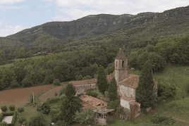 Romería de Santa Lucía en Sant Aniol de Finestres
