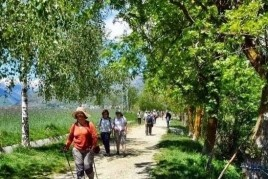 Caminada de la Sèquia a Puigcerdà