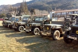 Concentració Internacional de vehicles militars d'època al…