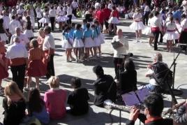Concurs de colles sardanistes a Ripoll