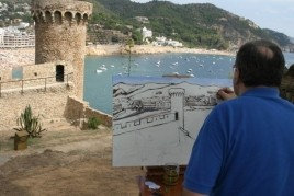 Tossa de Mar International Fast Painting Contest